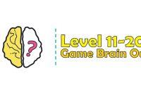 Kunci Jawaban Brain Out Level 11, 12, 13, 14, 15, 16, 17, 18, 19, 20