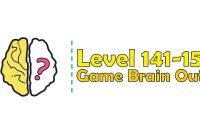Kunci Jawaban Brain Out Level 141, 142, 143, 144, 145, 146, 147, 148, 149, 150