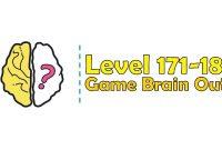 Kunci Jawaban Brain Out Level 171, 172, 173, 174, 175, 176, 177, 178, 179, 180