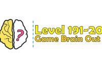 Kunci Jawaban Brain Out Level 191, 192, 193, 194, 195, 196, 197, 198, 199, 200