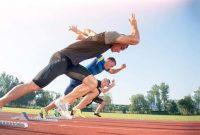 pelari jarak pendek dinyatakan diskualifikasi pada waktu lomba apabila